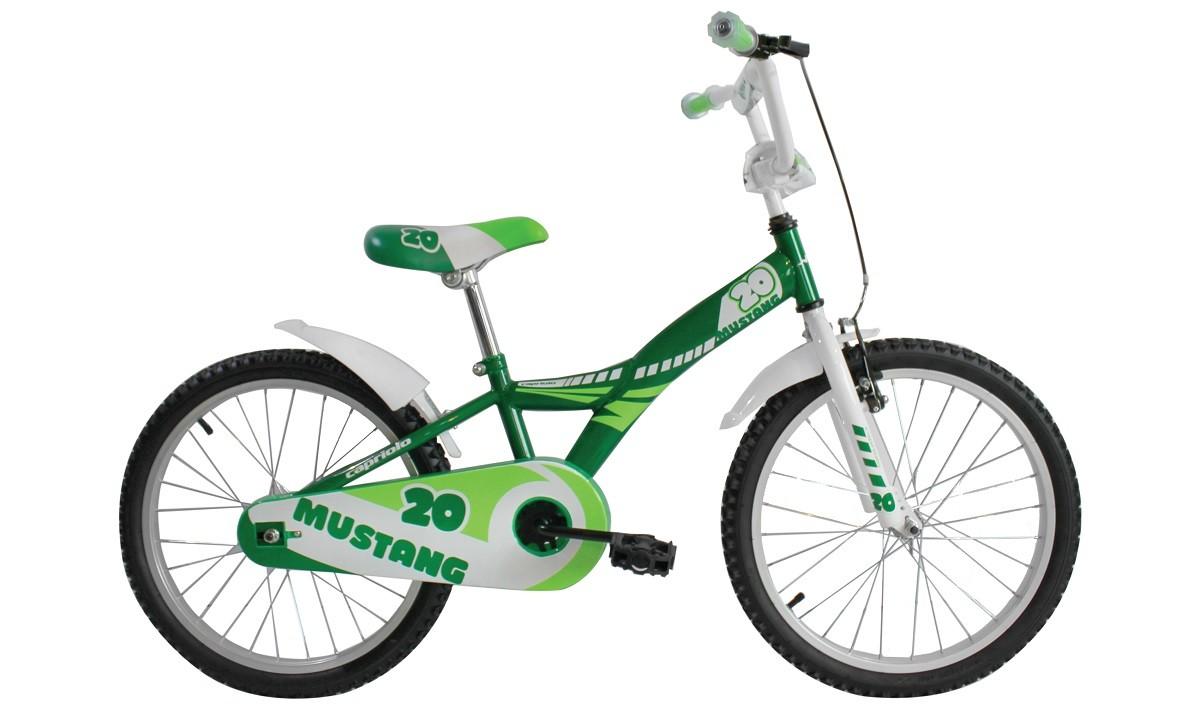 mustang 20 2016 green